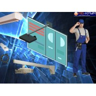 Установка интерактивной доски и короткофокусного проектора