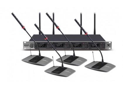 Беспроводная конференц-система BKR KX-D814 для малых и средних переговорных, а также для обеспечения качественной видеоконференцсвязи