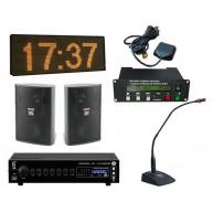 Комплект системы точного времени с трансляцией сообщений или звонков