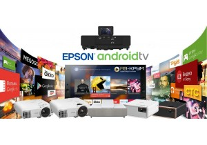 Epson представляет новые модели проекторов для домашних кинотеатров с встроенным Android TV!